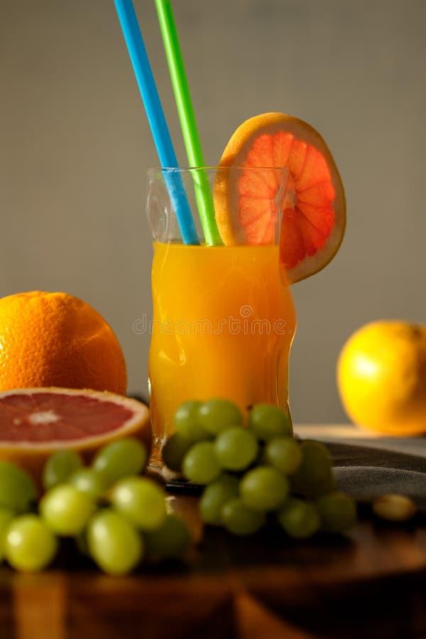 Pomarańczowy energiczny świeży obraz stock