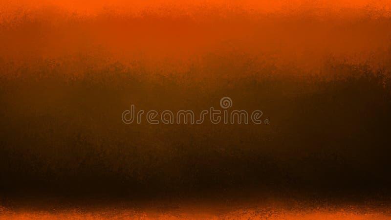 Pomarańczowy i czarny tło, Halloween jesień barwi z teksturą obrazy royalty free