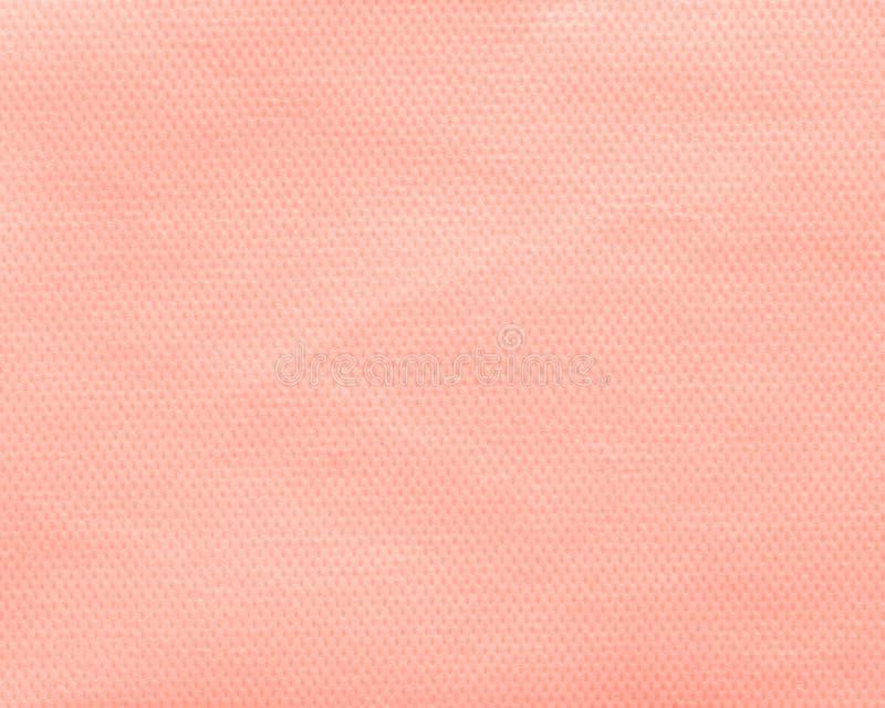 Pomarańczowy nonwoven tkaniny tło zdjęcia stock