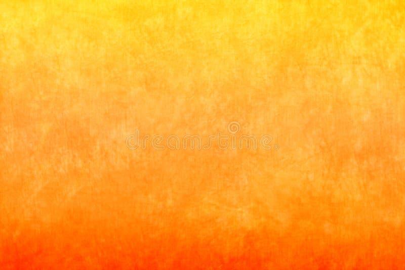 pomarańczowy tła kolor żółty fotografia stock