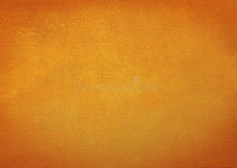 Pomarańczowy textured tło projekt dla tapety ilustracja wektor