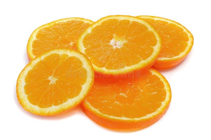 Download Pomarańczowi plasterki zdjęcie stock. Obraz złożonej z tło - 28958620