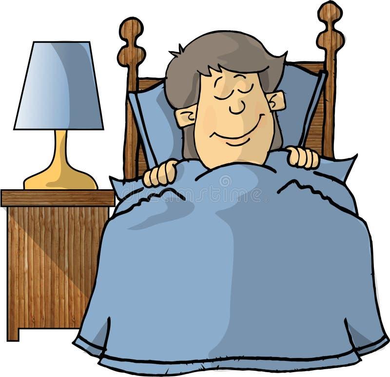 Download Pomarzyć chłopcze ilustracji. Obraz złożonej z łóżko, zabawa - 41743
