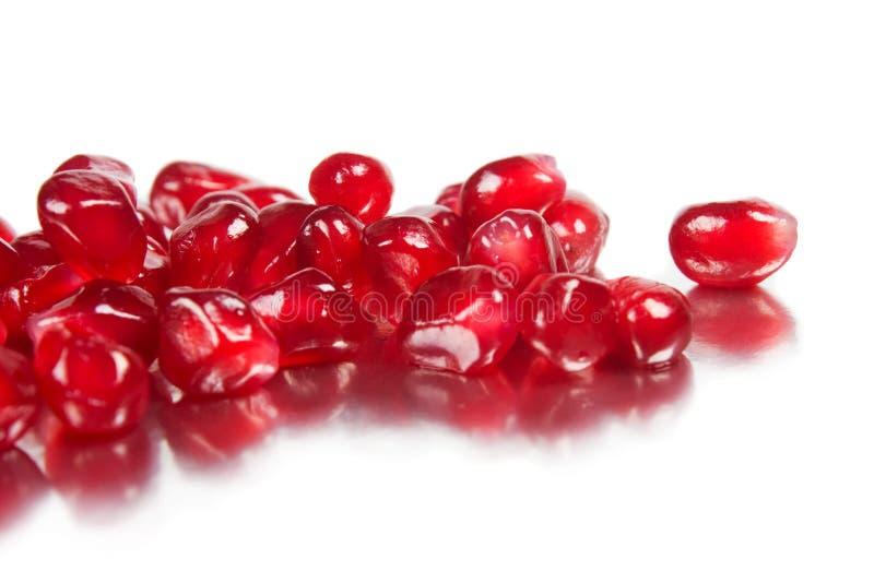 pomegranate зерен зрелый стоковые изображения