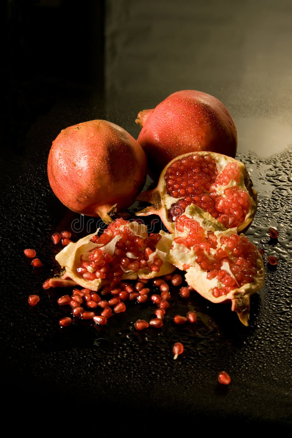 pomegranate зерен стоковые изображения rf