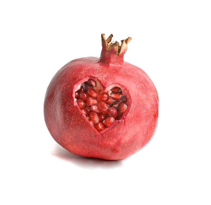 pomegranate зрелый стоковые фото