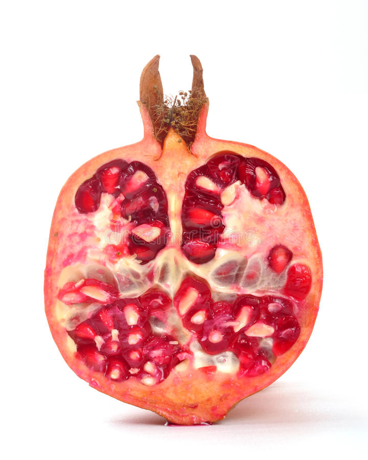 Download Pomegranate stock image. Image of pieces, desert, detail - 11273997