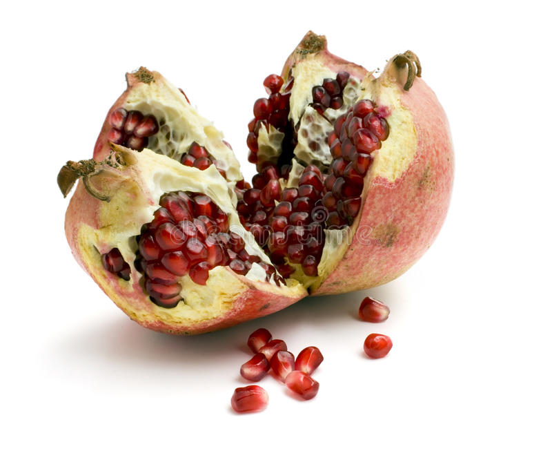 Download Pomegranate stock image. Image of open, antioxidant, portion - 11999767