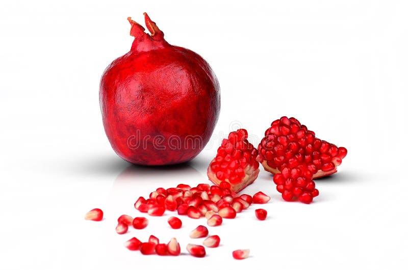 Download Pomegranate stock image. Image of garden, half, grenadine - 21591265
