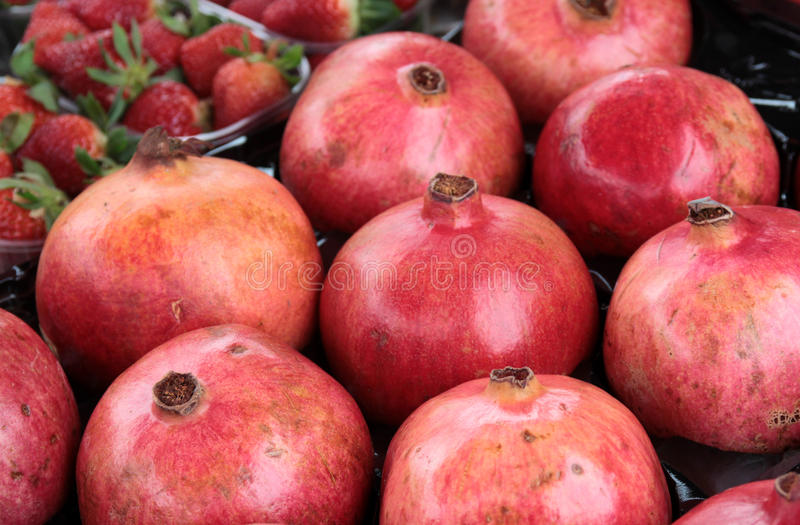 Download Pomegranate stock image. Image of plant, crop, fresh - 29270005