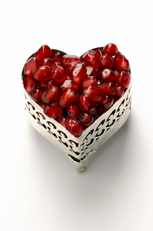 Download Pomegranate stock photo. Image of diamonds, valentine, passion - 360446
