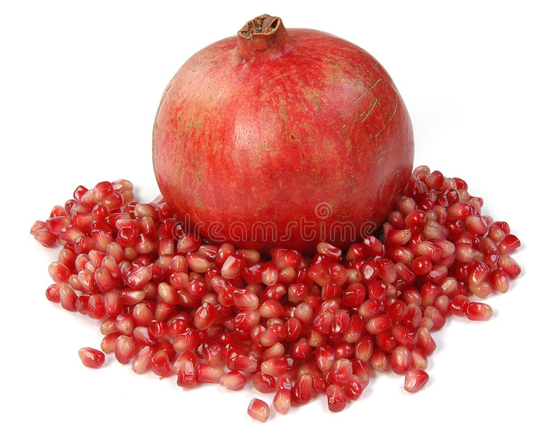 Download Pomegranate stock image. Image of diet, bits, full, healthy - 4029167