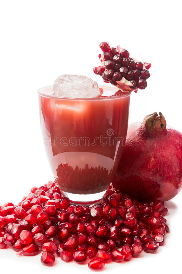 Pomegranate Cocktail Stock Photography