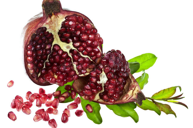 Download Pomegranate stock photo. Image of fruit, gourmet, subtropical - 33630238