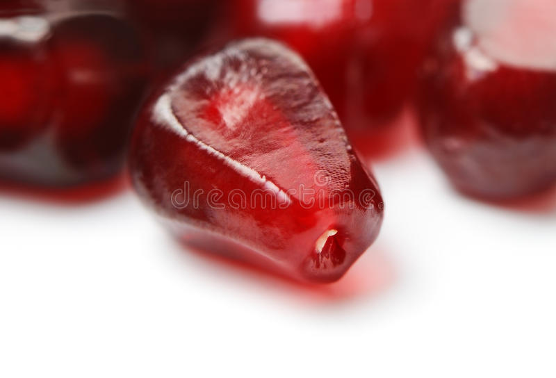 Pomegranate seed stock images