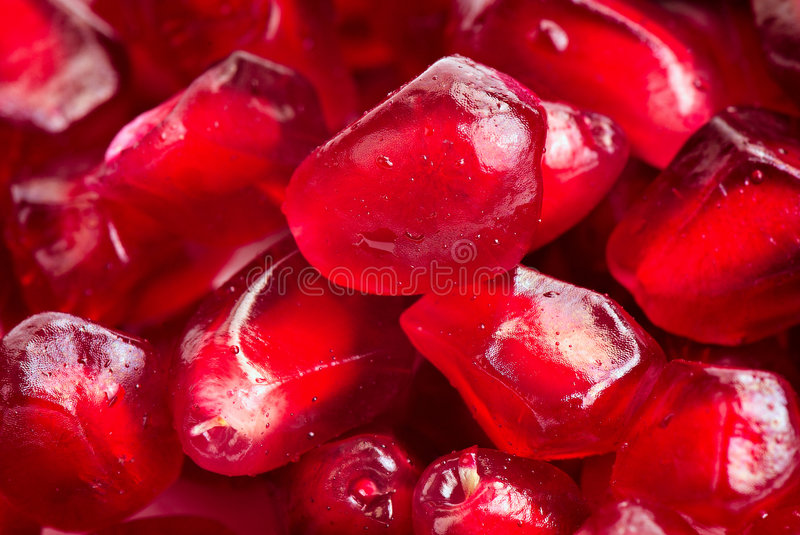 Download Pomegranate seeds stock photo. Image of close, succulent - 7190622