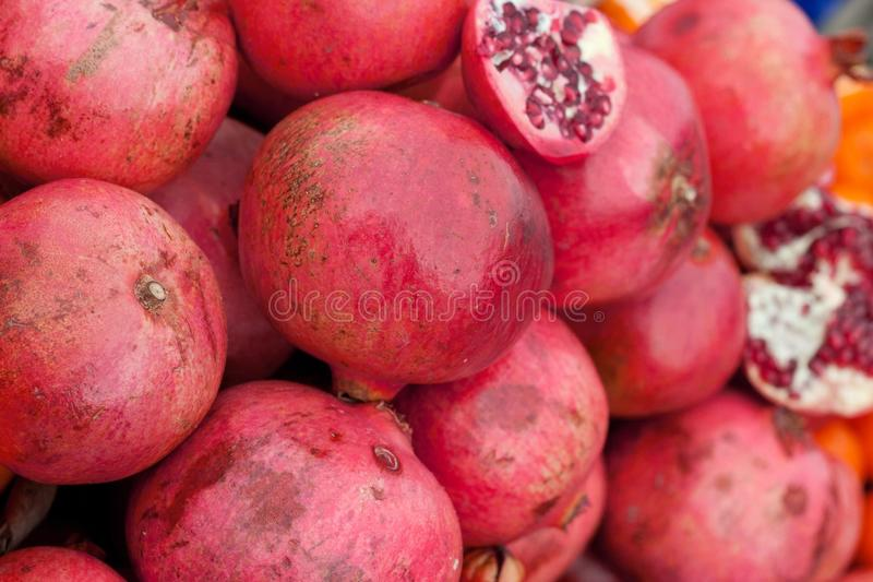 Download Pomegranate Slices And Seeds Stock Photo - Image: 27966176