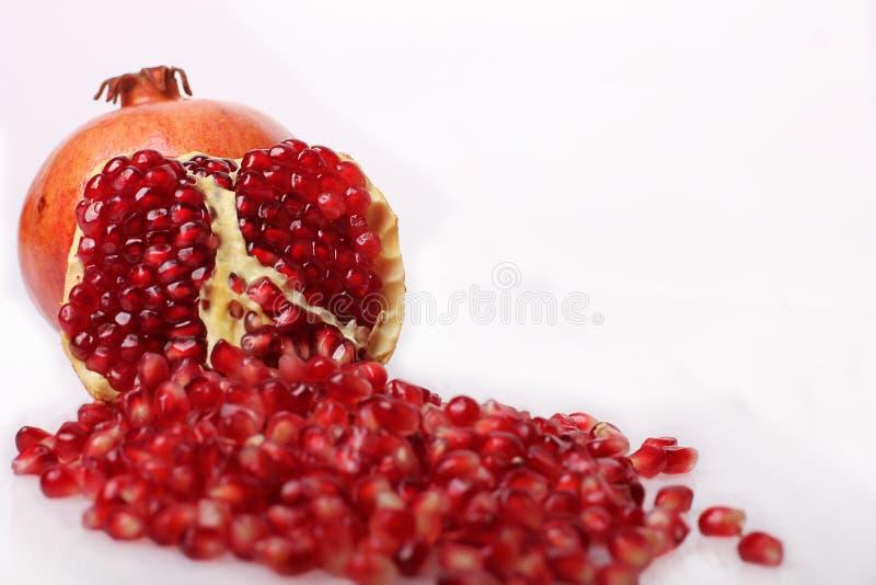 pomegranatefrö arkivfoto