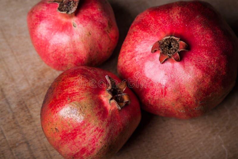 pomegranates royaltyfria bilder