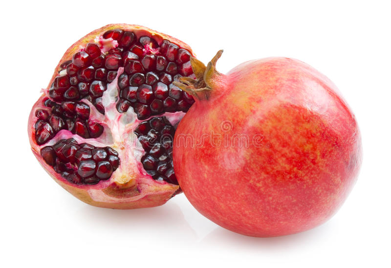 Download Pomegranates stock image. Image of tropical, fruit, isolated - 19608255