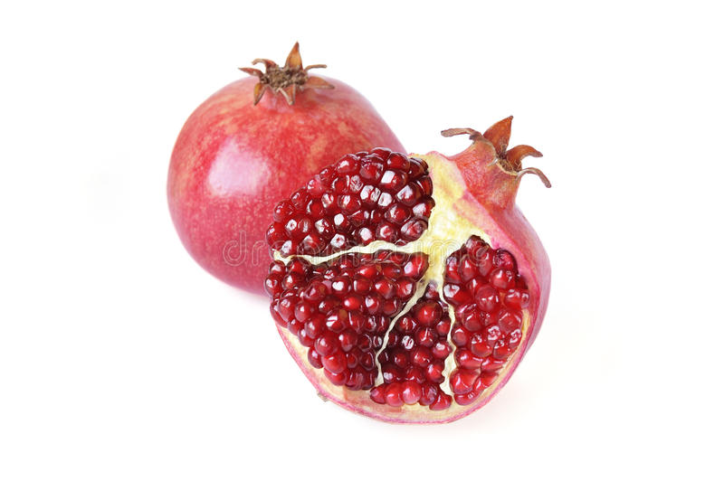 Download Pomegranates stock photo. Image of pomegranates, juice - 28000738