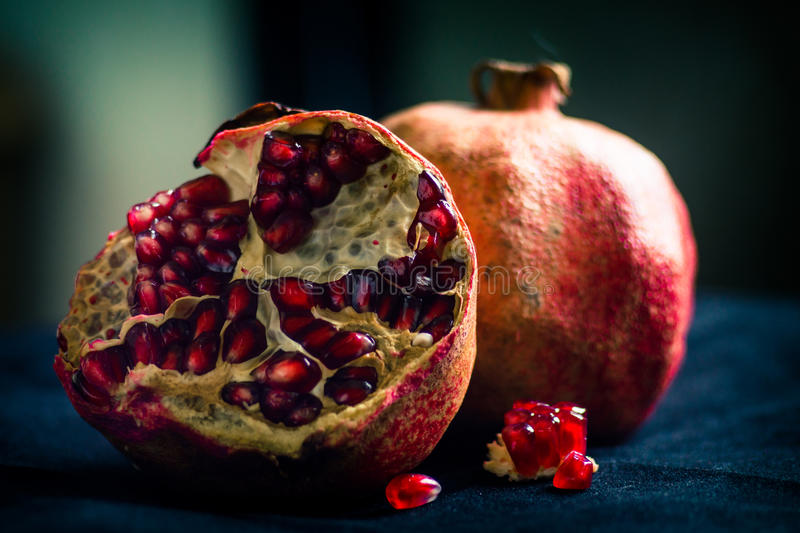 pomegranates fotografia de stock