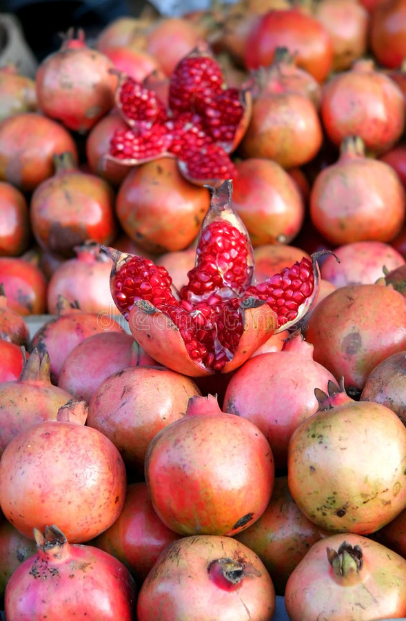 Download Pomegranates Royalty Free Stock Photography - Image: 6402187
