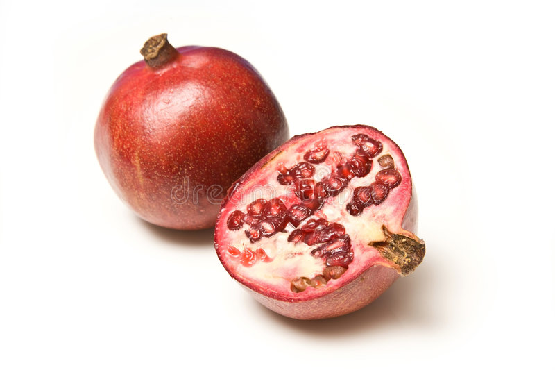 pomegranates стоковые фотографии rf