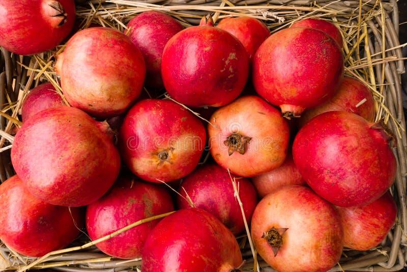 Pomegranates On Display Royalty Free Stock Image