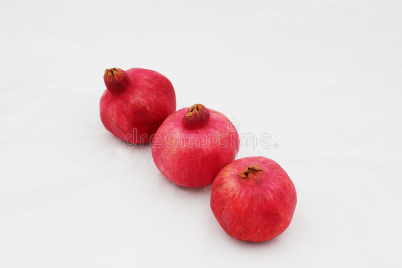 Pomegranates are symbols of the Jewish new year (Rosh HaShana). Pomegranates are traditional symbol of Jewish new year symbolizing many good deeds as the seeds stock photography