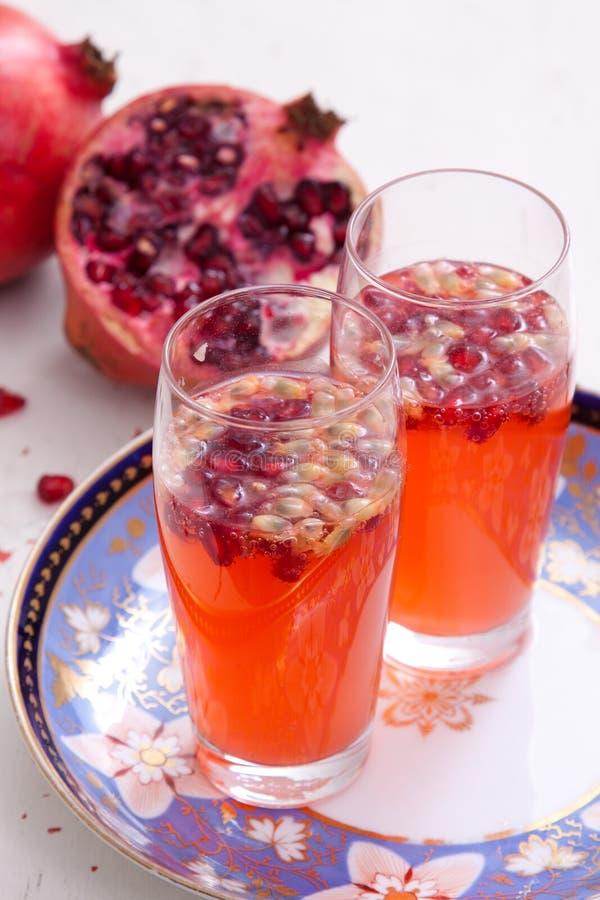 pomegranatespritzer royaltyfria foton