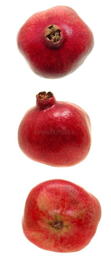 Pomegranatetrio Royaltyfri Bild