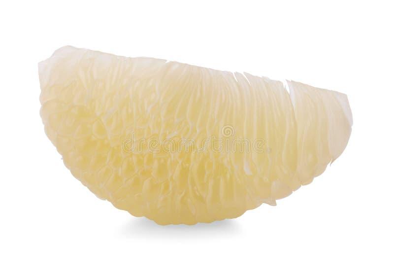 Pomelo εσπεριδοειδές που απομονώνεται στο άσπρο υπόβαθρο στοκ φωτογραφία