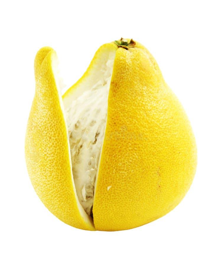 Pomelo (grandis do citrino) fotos de stock
