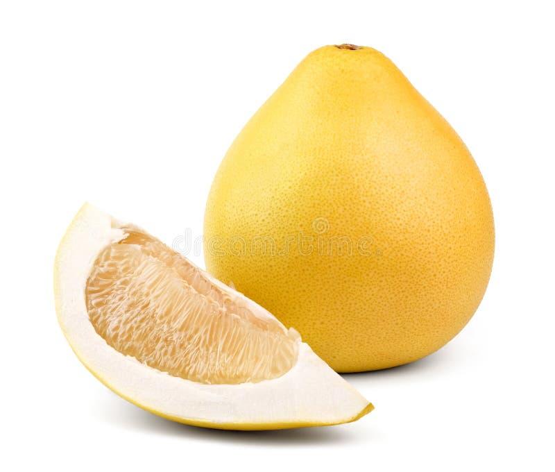 Pomelo maduro de la fruta fotos de archivo