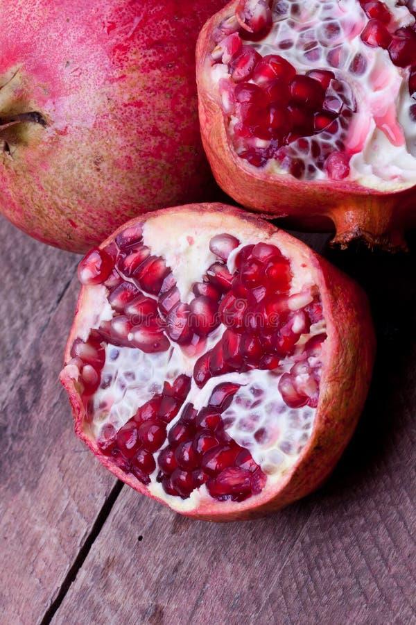 Pomengranate royaltyfri foto
