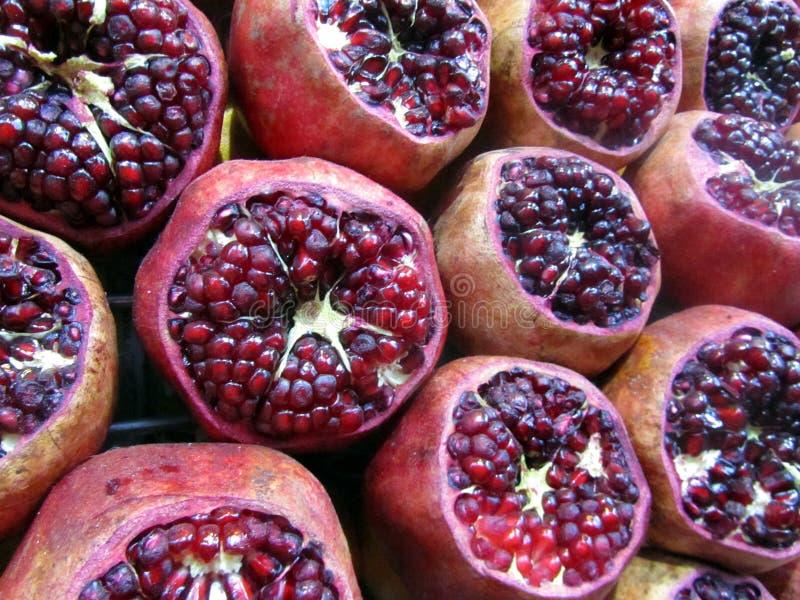 Pomengranate arkivfoton