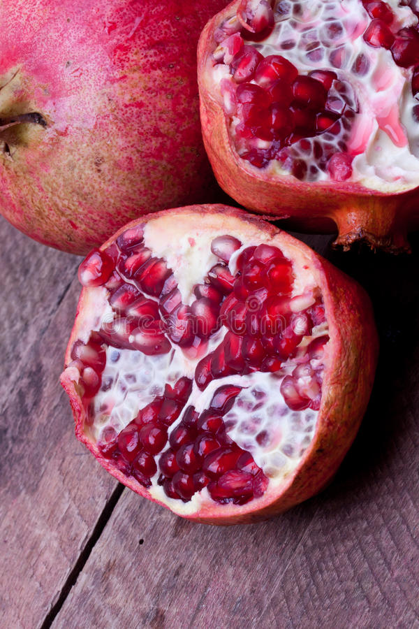 Pomengranate royalty free stock photo