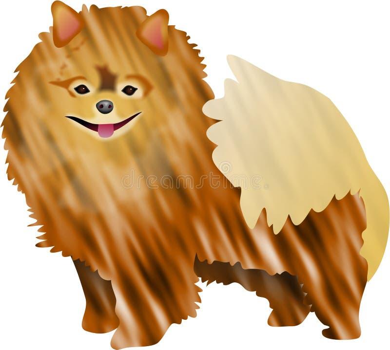 Download Pomeranian иллюстрация штока. иллюстрации насчитывающей любимчики - 83153