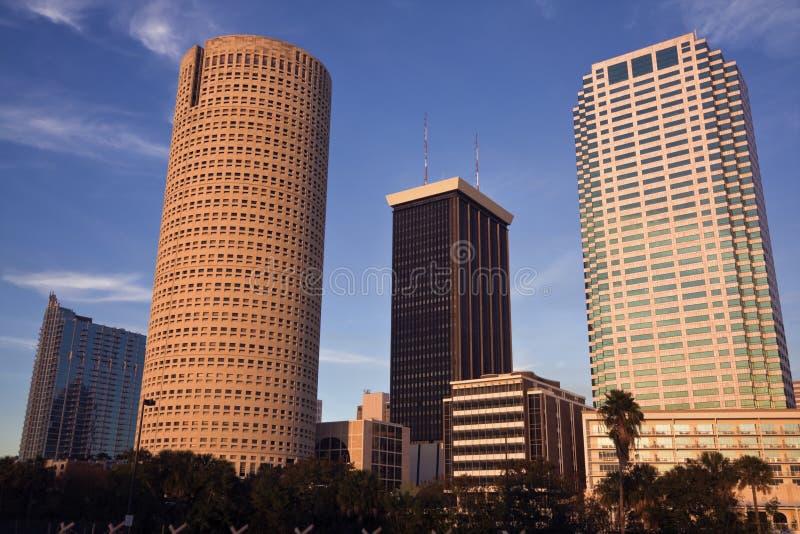 Pomeriggio a Tampa fotografia stock