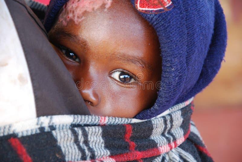 Pomerini坦桑尼亚非洲片刻7月30日, everyd 2014村庄  免版税库存照片