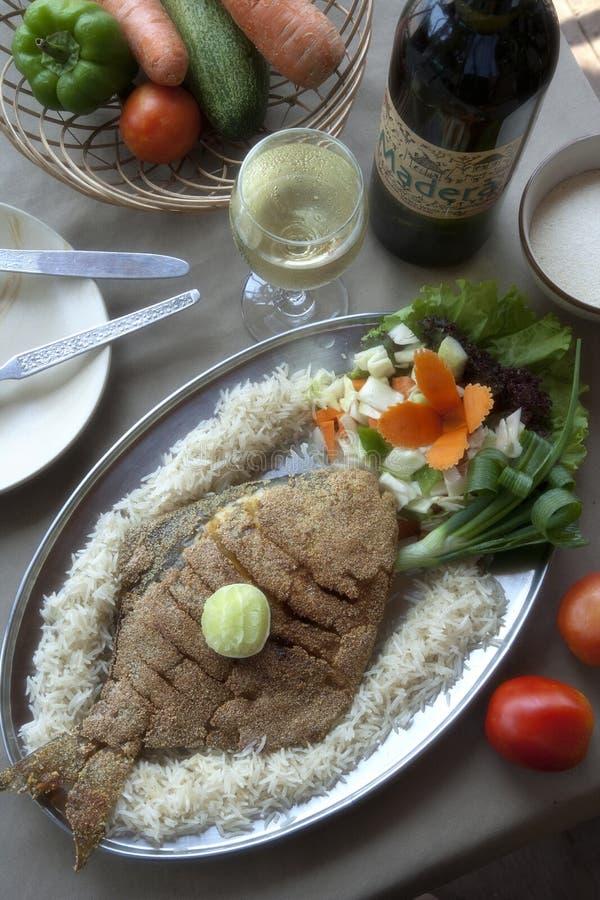 pomfret της Ινδίας goa ψαριών παραλ&iota στοκ εικόνες με δικαίωμα ελεύθερης χρήσης