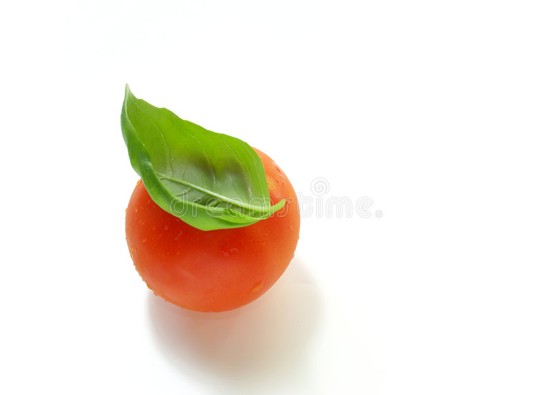 pomidor basila obrazy royalty free