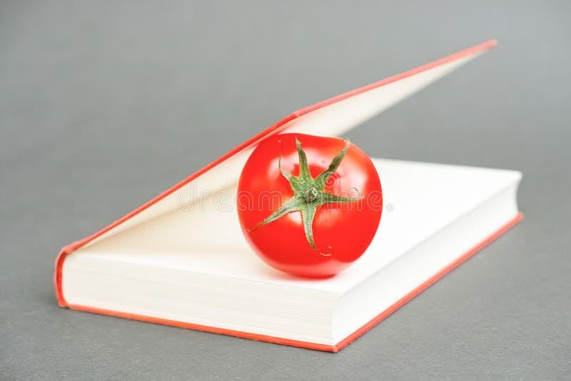 Pomidor książka zdjęcia stock