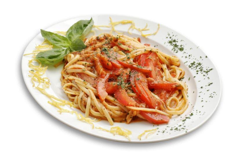 pomidor makaronu zdjęcia royalty free