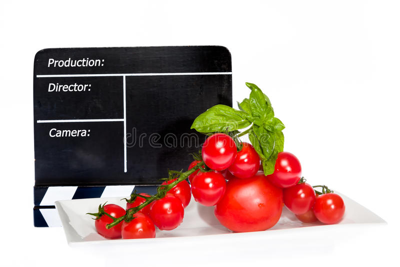 Pomidor opowieść fotografia stock