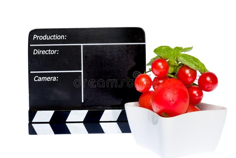 Pomidor opowieść fotografia royalty free