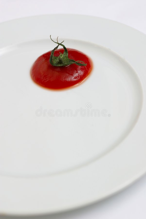 pomidor się fotografia stock