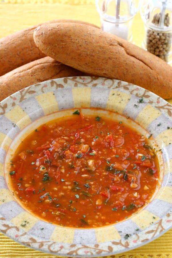 pomidor zupy obrazy stock