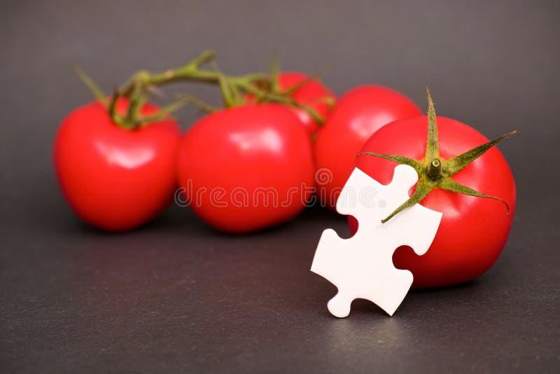 Pomidorowe tajemnicy fotografia stock